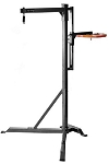 Fight Monkey Commercial Heavy Bag Stand with Speed Bag Platform