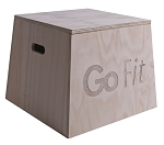 GoFit Premium Hard Wood Plyobox