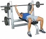 Inflight Fitness Olympic Flat Bench