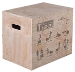3-IN-1 WOODEN PLYO BOX