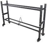 Fittrax 2 TIER WALL BALL / BUMPER PLATE RACK