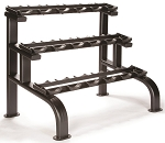 LEXCO LS-222 Three Tier Dumbbell Rack