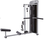 Steelflex Mega Power 3 Dimensional Back Row Machine