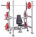 Steelflex Oly Military Bench