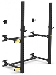 Wall Mounted Fold Up Half Rack