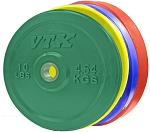 VTX Colored Solid Rubber Bumper Plates