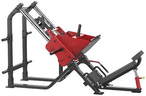 Element Fitness IRON Plate Loaded 45° Leg Press