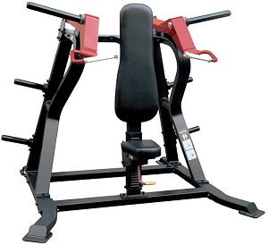 Element Fitness IRON Plate Loaded Shoulder Press