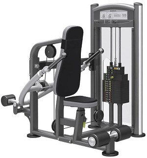 Element Fitness TITANIUM Seated Dip