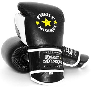 Fight Monkey Professional Series Leather Gloves