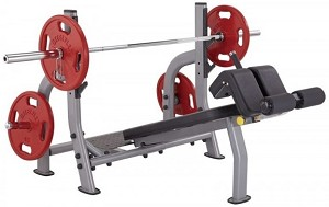 Steelflex Oly. Decline Bench