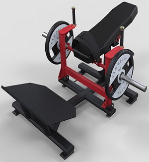 Hip Thruster - Plate Loaed