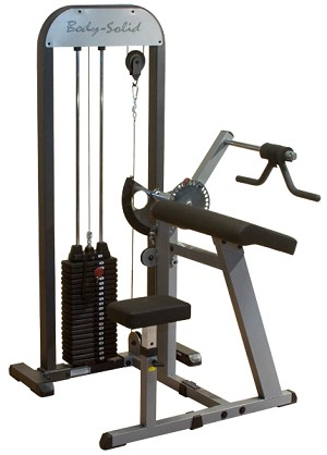 PRO-SELECT BICEPS & TRICEPS MACHINE