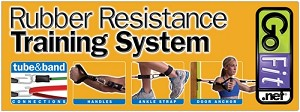 GoFit Rubber Resistance Training System