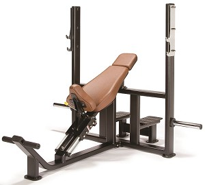 LEXCO LS-208 Olympic Incline Bench