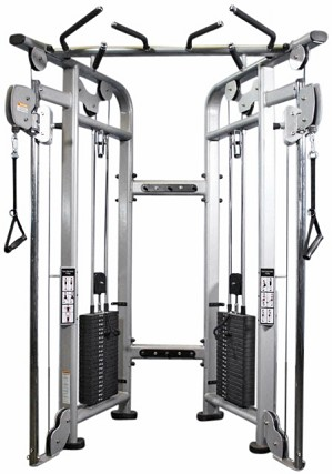 MULTI STATION SERIES DUAL ADJUSTABLE PULLEY SYSTEM