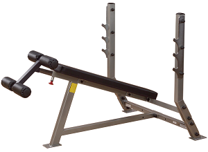 Body Solid Pro Club Line Olympic Decline Bench